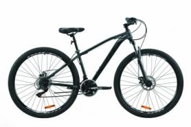 """Велосипед горный Formula DRAGONFLY 2020 - 29"""", Черно-зеленый (OPS-FR-29-069)"""