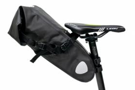 """Велосумка """"байкпакинг"""" под седло BRAVVOS A2-402 62x14x14cm черная"""