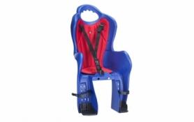 Кресло велосипедное детское на багажник Elibas P HTP design (CHR-009-1), синее