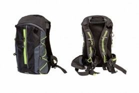 Велорюкзак QIJIAN BAGS B-300 (BKP-000) - черно-зеленый, 44х26х9 см