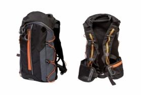 Велорюкзак QIJIAN BAGS B-300 (BKP-002) - черно-оранжевый, 44х26х9 см