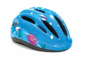 Шлем велосипедный детский FSK KS502  (HEAD-031) - голубой, 50-56см (3-8 лет)