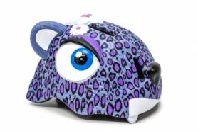 """Шлем велосипедный детский CIGNA """"Пурпурный леопард"""" (HEAD-042), 49-55см (3-8 лет)"""