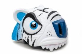"""Шлем велосипедный детский CIGNA """"Белый тигр"""" (HEAD-043), 49-55см (3-8 лет)"""