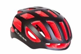 Шлем велосипедный СIGNA TT-4 (HEAD-024) - чёрно-красный, L (58-61см)