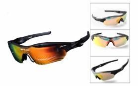 Очки велосипедные с двумя смен. линзами GUB 5300 (GLA-012)