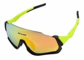 Очки велосипедные со сменными линзами GUB 5700 Anti Fog (GLA-015), салатовые