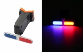 Фонарь габаритный задний (Police) BC-TL5454 LED, USB (LTSS-026)