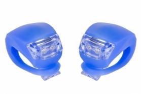 Мигалка BC-RL8001 белый+красный свет LED (L-010) - синяя, 2 шт
