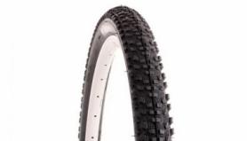 Покрышка велосипедная 27.5x2.1 RUBENA Ocelot (черная)
