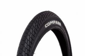 Покрышка велосипедная 18x1.95 WANDA P1023 (дорожный протектор) (черная)
