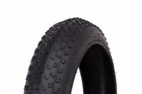 Покрышка велосипедная 26x4.0 WANDA P1272 (фэт-байк) (черная)