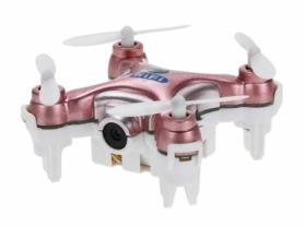 Квадрокоптер нано с камерой Cheerson CX-10W, розовый