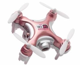 Квадрокоптер нано с камерой Cheerson CX-10WD-TX, розовый