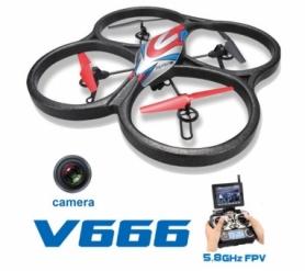 Квадрокоптер с камерой WL Toys V666 Cyclone