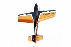 Самолет р/у Precision Aerobatics Extra MX 1472мм KIT (желтый)