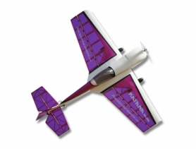 Самолет р/у Precision Aerobatics Katana Mini 1020мм KIT (фиолетовый)