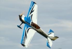 Самолет р/у Precision Aerobatics Katana MX 1448мм KIT (синий)
