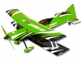 Самолет р/у Precision Aerobatics Ultimate AMR 1014мм KIT (зеленый)