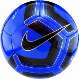 Мяч футбольный Nike Pitch Training (SC3893-410) - синий, №5