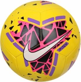 Мяч футбольный Nike Pitch (SC3807-710) - желтый, №5