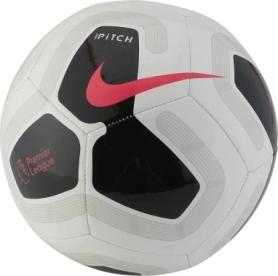 Мяч футбольный Nike Premier League Pitch (SC3569-100) - серый, №5
