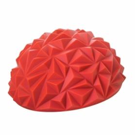 Полусфера массажная балансировочная (массажер для ног, стоп) Springos Balance Pad (FA0047) - красная, 16 см