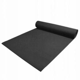 Коврик (мат) для йоги и фитнеса Springos PVC Black (YG0007), 170х60х0.4см - Фото №3