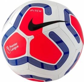 Мяч футбольный Nike Premier League Pitch (SC3569-101) - белый, №5