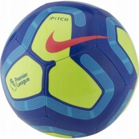 Мяч футбольный Nike Premier League Pitch (SC3569-410) - синий, №5