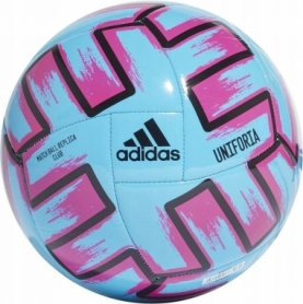 Мяч футбольный Adidas Uniforia Club (FH7355) - голубой, №5