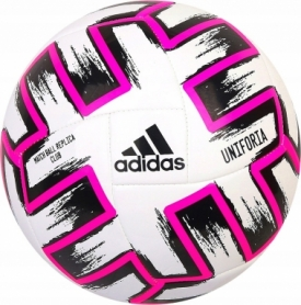 Мяч футбольный Adidas Uniforia Club (FR8067) - белый, №5