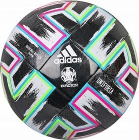 Мяч футбольный Adidas Uniforia Training (FP9745) - черный, №5