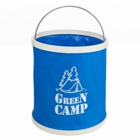 Ведро туристическое Green Camp (GC-B11B) - синее, 11л