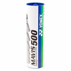 Воланы Yonex Mavis 500 (MY500-WH), 6шт