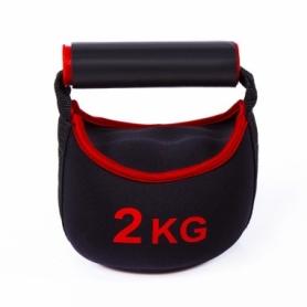 Гиря неопреновая IronMaster (IR97857-2), 2 кг