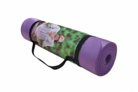 Коврик для фитнеса (йога-мат) Pro Supra NBR 1800х800х10мм, фиолетовый