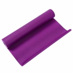 Коврик для йоги и фитнеса, TPE+TC, IronMaster (IR97503B, 173x61x0.6 см