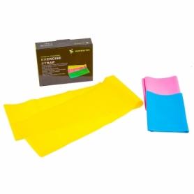 Лента эластичная для фитнеса и йоги, TPE, IronMaster (IR97627), 150*15 см