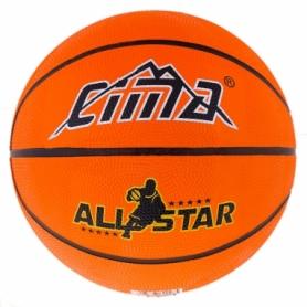 Мяч баскетбольный резиновый Cima All Star, №7 (R7CM)