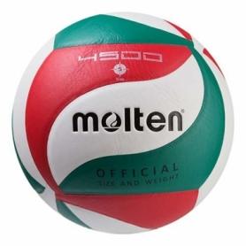 Мяч волейбольный Molten красный, №5 (M4500-1)