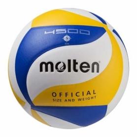 Мяч волейбольный Molten синий, №5 (M4500-2)