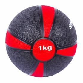 Мяч медбол IronMaster (4/1) (IR97801F-1), 1 кг, d=19 см