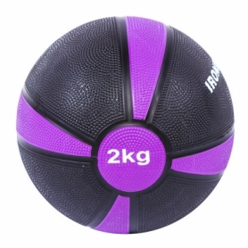 Мяч медбол IronMaster (4/1) (IR97801F-2), 2 кг, d=19 см