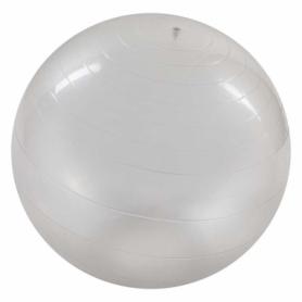 Мяч для фитнеса глянцевый (фитбол) прозрачный, 85 см (5415-21)