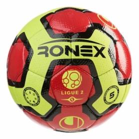 Мяч футбольный Ronex красный, №5 (RX-UL3)