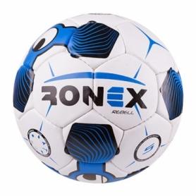 Мяч футбольный Ronex голубой, № 5 (RX-UHL-SK)