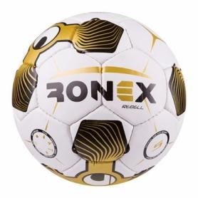 Мяч футбольный Ronex золотой, № 5 (RX-UHL-GD)