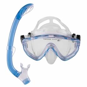 Набор для плавания (маска и трубка) Dolvor (М171P+SN59P)