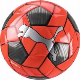 Мяч футбольный Puma One Strap Ball (083272-02) - оранжевый, №5